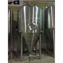 2017 DAEYOO 1100 GALLON STAINLESS STEEL DOME / CONE SHAPED FERMENTATION TANK