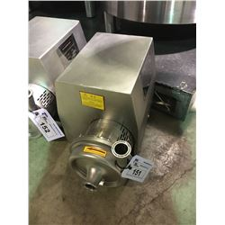 2017 DAEYOO TECH STAINLESS STEEL INDUSTRIAL WASHING / SANITIZATION CIRCULATION PUMP