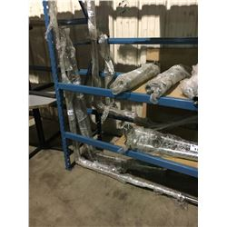 ASSORTED STAINLESS STEEL BREWERY SYSTEM PIPE PACKAGE