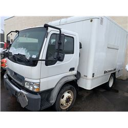 2008 INTERNATIONAL CF 500, 4X2 2DR SERVICE CUBE VAN, WHITE, VIN # 3HAJEAVH68L576860