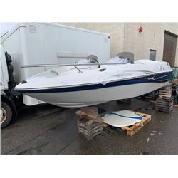 2008 17' SUGAR TANGO JET BOAT WITH MERCURY 200HP INBOARD