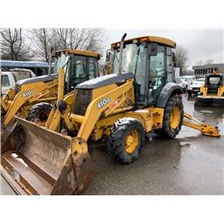 2005 JOHN DEERE 410G, BACKHOE, YELLOW, VIN # T0410GX942929