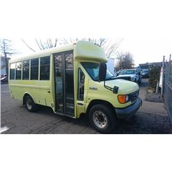 2007 FORD ECONO, HANDY DART, YELLOW, DIESEL, AUTOMATIC, VIN#1FDSE35P27DA30553, 351,449KMS, RD,AC, 2