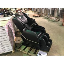 BLACK BEST MASSAGE BM - EC77 SHIATSU ZERO GRAVITY FULL BODY MASSAGE CHAIR WITH REMOTE