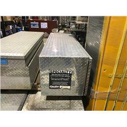 """ADRIAN STEEL 20"""" X 18"""" X 60"""" ALUMINUM CHECKER PLATE TRUCK TOOL BOX"""
