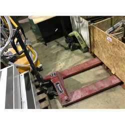 RED SHIPPERS SUPPLY 5000LBS PALLET JACK