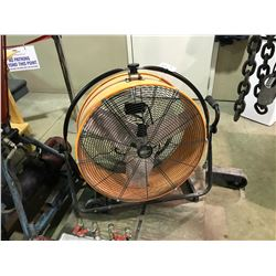 COMMERCIAL ELECTRIC MOBILE WAREHOUSE FAN