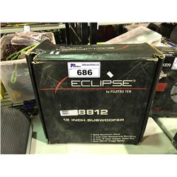 "ECLIPSE 12"" SUBWOOFER"