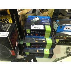 JL AUDIO XD 600/1V2, JL AUDIO XD 500/3V2 & JL AUDIO XD 300/1 AMPLIFIERS
