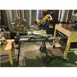 DEWALT SLIDING COMPOUND MITRE SAW
