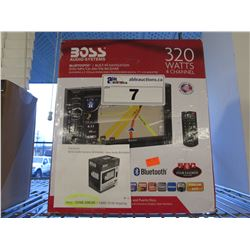 BOSS 320W 4-CHANNEL BLUETOOTH BUILT-IN NAVIGATION AUTOMOTIVE RECEIVER
