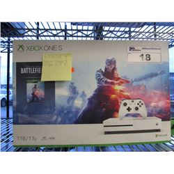 XBOX ONE S (1TB) CONSOLE WITH ACCESSORIES (INCLUDES GAMES ON HDD)