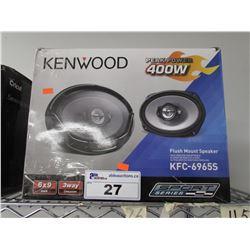 KENWOOD 400W KFC-6965S FLUSH MOUNT SPEAKERS