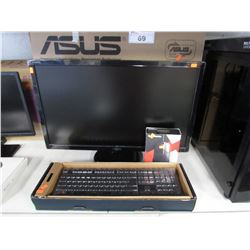 "ASUS 27"" MONITOR, GAMING KEYBOARD, STEELSERIES SENSEI 310 MOUSE"