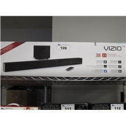 "VIZIO 38"" SOUND BAR SYSTEM WITH BLUETOOTH"