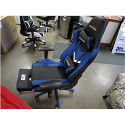 BLACK/BLUE WENSIX GAMING CHAIR