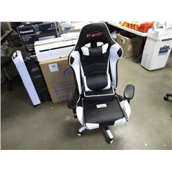 BLACK/WHITE TOP GAMER GAMING CHAIR