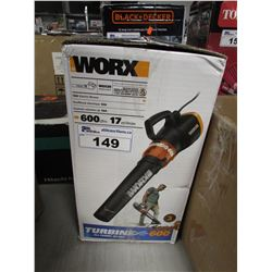 WORX 12A ELECTRIC BLOWER