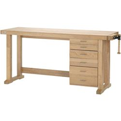 "GRIZZLY INDUSTRIAL 78"" MAPLE WORK BENCH"
