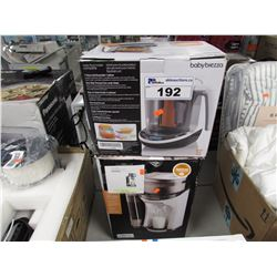 BABY BREZZA BABY FOOD MAKER & BABY BREZZA FORMULA PRO MACHINE
