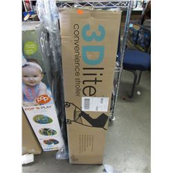 SUMMER INFANT 3D LITE CONVERTIBLE STROLLER