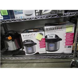 3 INSTANT POTS (FOR PARTS & REPAIR)
