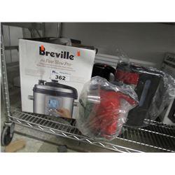 BREVILLE FAST SLOW PRO, POPCORN POPPER, RUSSELL HOBBS COFFEE MACHINE, SECURA KETTLE
