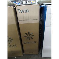 "ZINUS 8"" TWIN MEMORY FOAM PRESSURE RELIEF GREEN TEA MATTRESS"