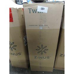 "ZINUS 5"" TWIN MEMORY FOAM MATTRESS"