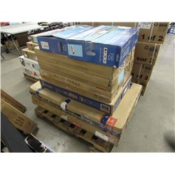 PALLET OF APPROX 8 MONITORS & TVS