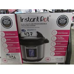 6 QUART INSTANT POT 10-IN-1 MULTI USE PROGRAMMABLE PRESSURE COOKER