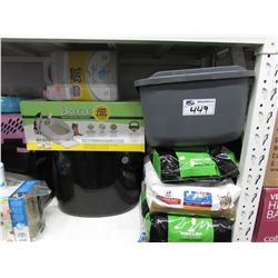 BREEZE ODOR CONTROL LITTER BOX, CAT LITTER, KITTY POTTY TRAINER, ETC