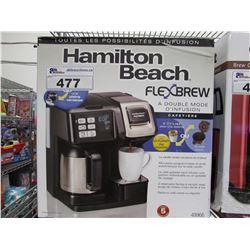 HAMILTON BEACH FLEX BREW COFFEE STATION