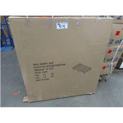 """METAL PLATFORM BED FRAME 39 X 75"""""""
