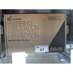 "ASUS 15.6"" MB168 USB MONITOR"