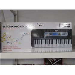 ROCKJAM 54 KEY MULTI FUNCTION ELECTRONIC KEYBOARD