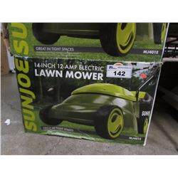 "SUNJOE 14"" 12-AMP ELECTRIC LAWN MOWER"