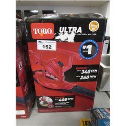 TORO ULTRA ELECTRIC BLOWER, VAC & MULCHER