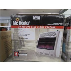 MR HEATER 30,000 BTU BLUE FLAME PROPANE VENT FREE HEATER