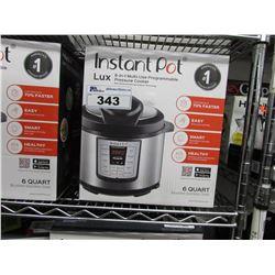 6 QUART ULTRA INSTANT POT 6-IN-1 MULTI USE PROGRAMMABLE PRESSURE COOKER