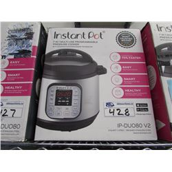 8 QUART LUX INSTANT POT 7-IN-1 MULTI USE PROGRAMMABLE PRESSURE COOKER