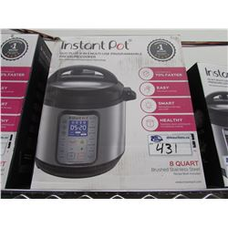 8 QUART LUX INSTANT POT 9-IN-1 MULTI USE PROGRAMMABLE PRESSURE COOKER