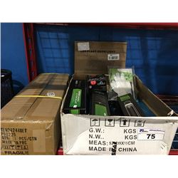 2 BOXES OF ASSORTED GROW EQUIPMENT