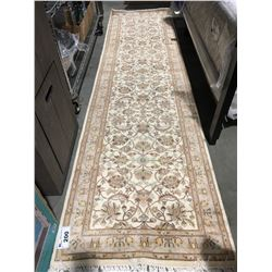 "TABRIZ - WOOL 10'2""X2'7"" PERSIAN AREA RUG RUNNER (RETAIL VALUE $3,300.00)"