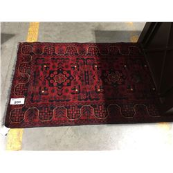 "SERAPI - WOOL 10'5""X2'9"" PERSIAN AREA RUG RUNNER (RETAIL VALUE $3,300.00)"