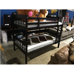 BUNK BED SET COMPLETE WITH MATTRESSES