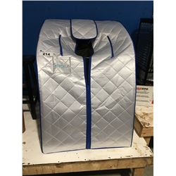 SERENE LIFE BY PYLE COMPACT & PORTABLE INFRARED SAUNA