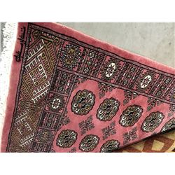 "BOKHARA - WOOL 3'9""X2'6"" PERSIAN AREA RUG (RETAIL VALUE $520.00)"