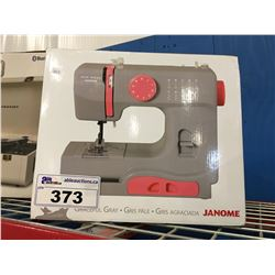 JANOME NEW HOME GRACEFUL GREY SEWING MACHINE