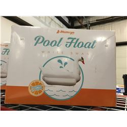 MIMOSA POOL FLOAT WHITE SWAN